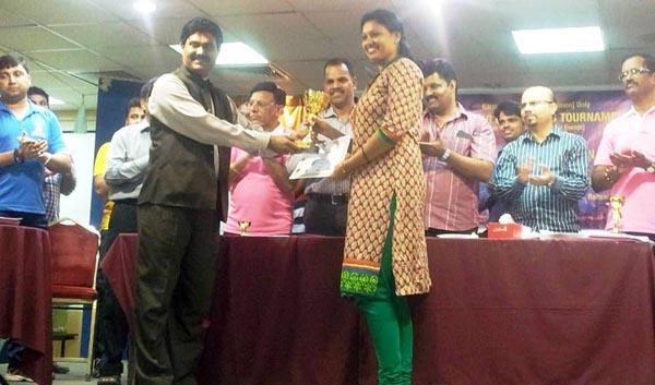 Darts C - Winner Shalini