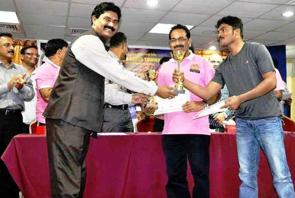 Darts D - Winners Prakash & Jayakumar