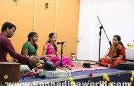 ದುಬೈ ನಗರದಲ್ಲಿ ಕರ್ನಾಟಕ ಸಂಗೀತದ ಸುಂದರ ಸಂಜೆ