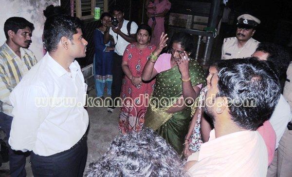 Udupi Sp_Visit_Gopadi Indhira house (18)