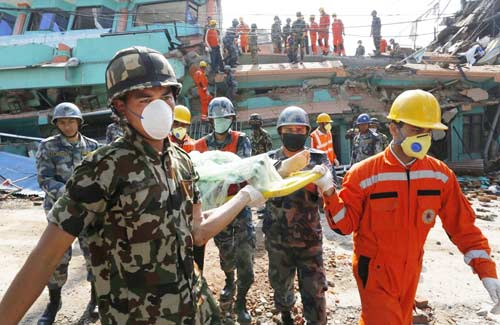 Nepal-EarthQuake-History