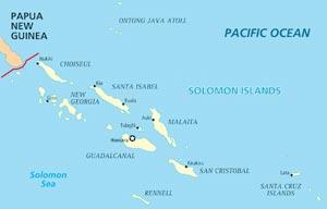 map_solomon_islands