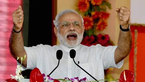 Modi in Asansol
