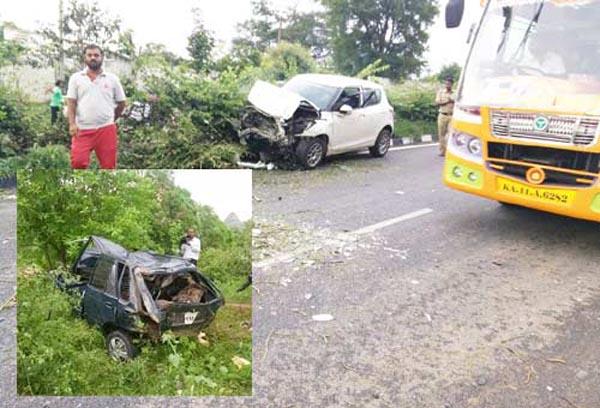 Accident In ramanagara