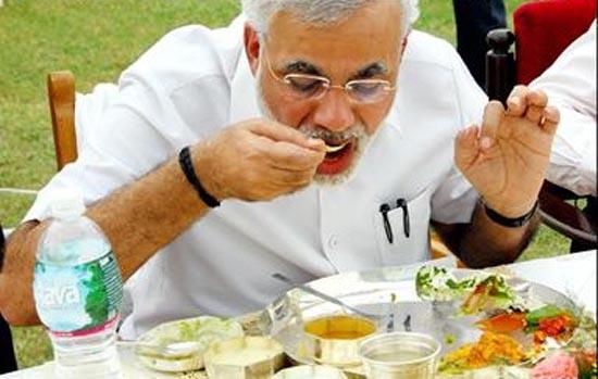 Modi-eating