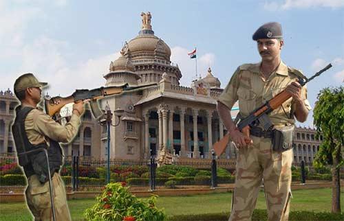 Vidhanasoudha-Security