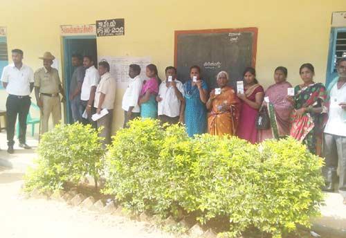 Voting-Panchayat