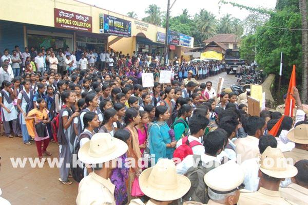 akshatha murder in byndoor protest_June 19_2015-006