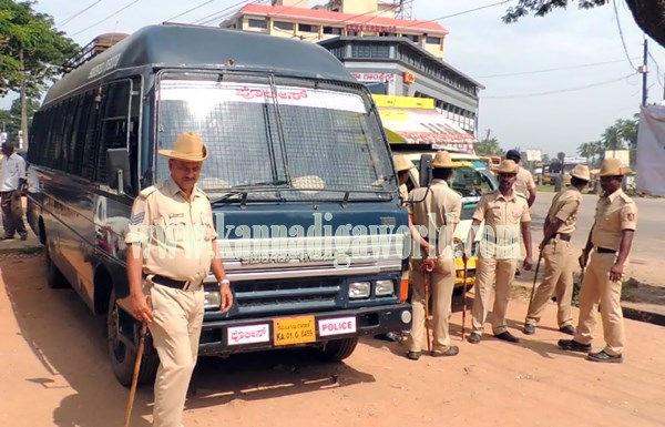 Bajarangadala_Protest kndpr_Tippu jayanthi (4)