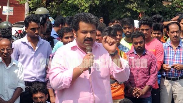 Kundapur BJP_Highway Bundh_Protest .