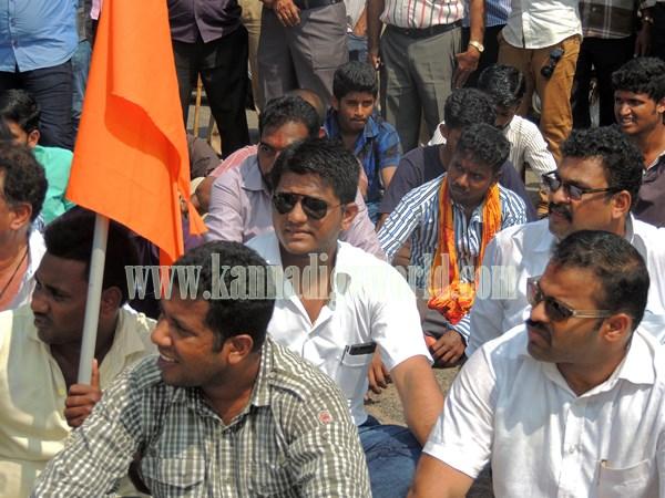Kundapur BJP_Highway Bundh_Protest (15)