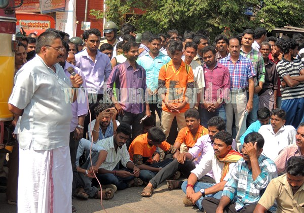 Kundapur BJP_Highway Bundh_Protest (17)