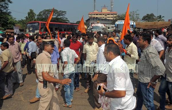 Kundapur BJP_Highway Bundh_Protest (19)