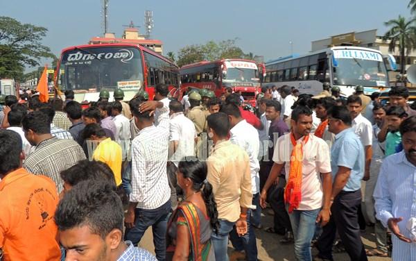 Kundapur BJP_Highway Bundh_Protest (20)