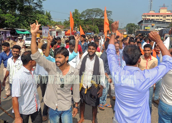 Kundapur BJP_Highway Bundh_Protest (6)