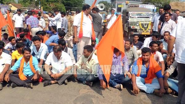 Kundapura_Highway block_Protest (1)
