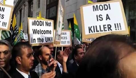Modi-unwelcome