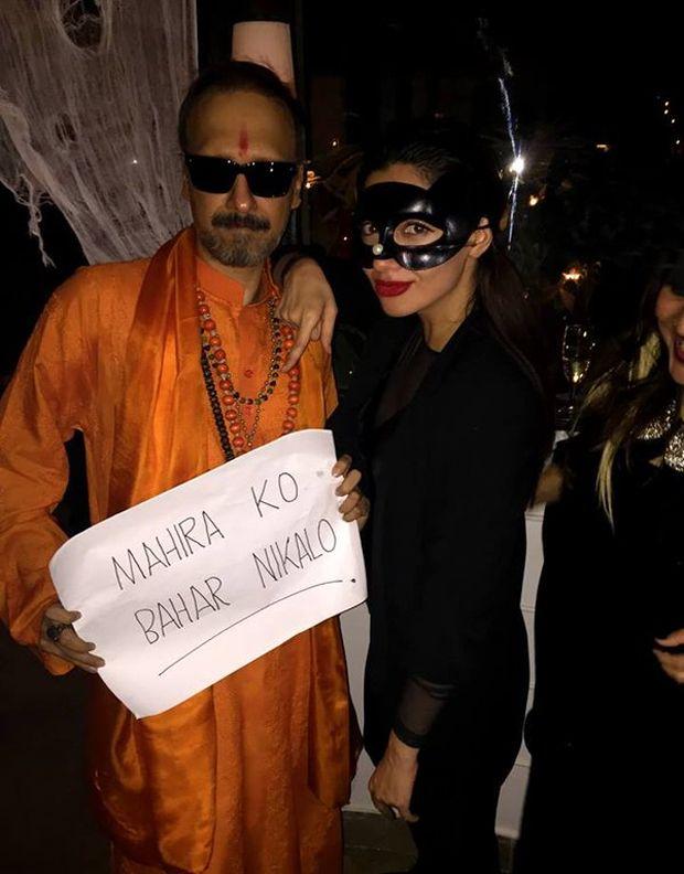 mahira khan halloween