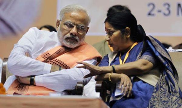 Narendra-Modi-Sushma-Swaraj