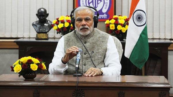 Prime minister in Mann Ki Baat