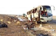 19 pilgrims killed, 22 hurt as bus overturns