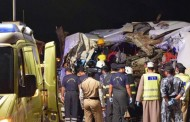 18 dead as Dubai-bound bus is hit by truck