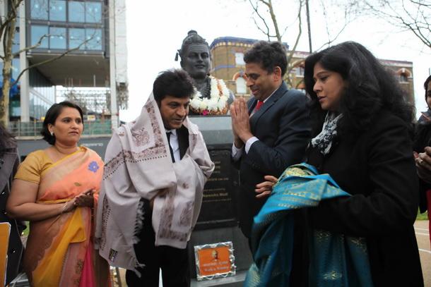Shivaraj Kumar's tribute to Basaveshwara