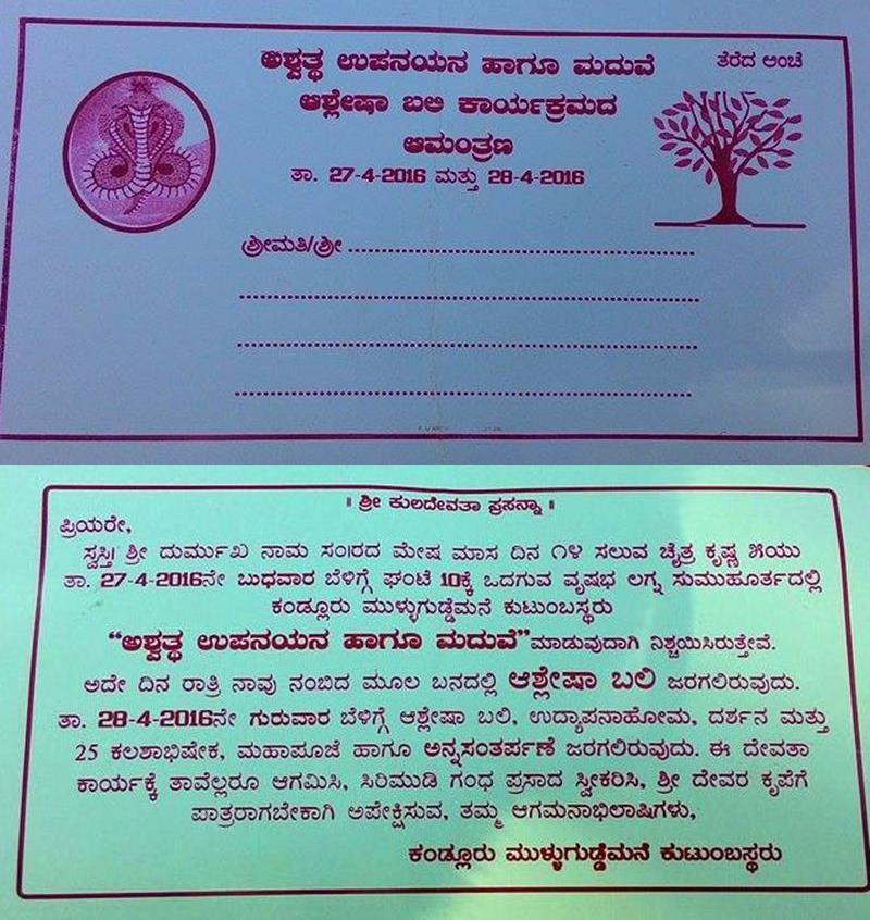 Kundapura_Ashwaththa Tree_Mariage (3)