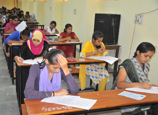 HO GOD HELP ME ..................STUDENTS ARE WRITTING THE PUC RE EXAM IN CITY