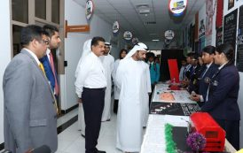 His Highness Sheikh Ahmed Bin Humaid Al-Nuaimi Visits Gulf Medical University