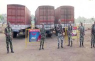Tamil Nadu : ECA stopped three trucks with Rs 570 crore cash in poll-bound.