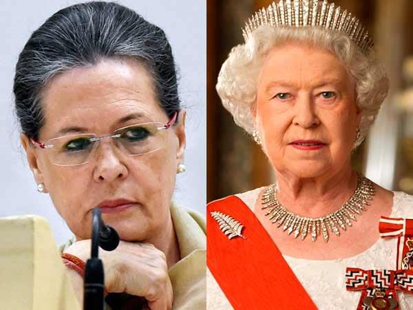 Sonia Gandhi is richer than British Queen Elizabeth II