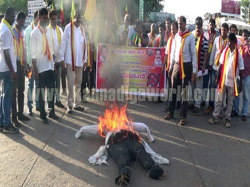 Udupi_Venkayyya Naidu_against Karave Protest (1)