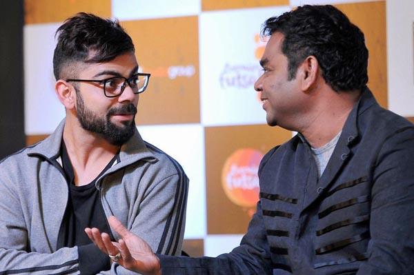 Virat Kohli And AR Rahman