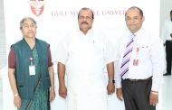 Kerala Minister PC George visits Gulf Medical University