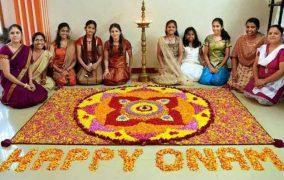 'Onam' the festival of harvest!!!!!