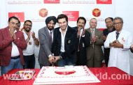 Pakistani actor Ahsan Khan greets fans at Thumbay Medical & Dental Specialty Centre 5th anniversary celebrations