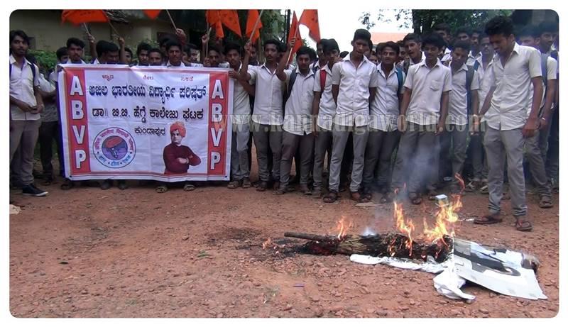 kundapura_abvp_protest-5