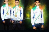 ರಾಷ್ಟ್ರೀಯ ಐಸ್ ಸ್ಕೇಟಿಂಗ್ : ಮಂಗಳೂರಿನ ಇಬ್ಬರು ಚಿನ್ನದ ಪದಕ ಗೆದ್ದು ರಾಷ್ಟ್ರೀಯ ತಂಡಕ್ಕೆ ಆಯ್ಕೆ