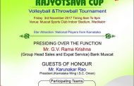 Muscat: 'Mangalore Spikers' to hold volleyball 'Karnataka Rajyotsava Cup' on Nov 3