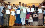 ದಕ್ಷಿಣ ವಿಧಾನ ಸಭಾ ಕ್ಷೇತ್ರದ 400 ಮಂದಿ ಫಲನುಭವಿಗಳಿಗೆ ಹಕ್ಕು ಪತ್ರ ವಿತರಣೆ