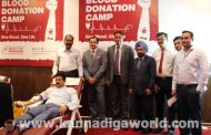 Blood Donation Camp 2018 organized by Fortune Group of Hotels – A Praveen Shetty Enterprise as a part of its community service drive