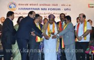 Former PM of India H D Deve Gowda honored by KNRI UAE