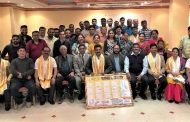The Tulu Koota Kuwait (TKK) released the calendar – 2019 and 20th year Emblem at its first all committee meeting