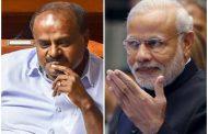 ಕಾಂಗ್ರೆಸ್ 'ಕ್ಲರ್ಕ್' ಆಗಿರುವ ಕುಮಾರಸ್ವಾಮಿ: ಮೈತ್ರಿ ವಿರುದ್ಧ ಮೋದಿ ವಾಗ್ದಾಳಿ