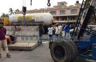 ಕುಂದಾಪುರ ಸಂಗಮ್ ಜಂಕ್ಷನ್'ನಲ್ಲಿ ಕಾಂಕ್ರಿಟ್ ಬ್ಲಾಕ್ ತೆರವು: ವಾಹನ ಸಂಚಾರಕ್ಕೆ ಮುಕ್ತ!