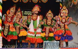 ದುಬೈ: ಯಕ್ಷ ಪ್ರಿಯರನ್ನು ರಂಜಿಸಿದ ದುಬೈ ಯಕ್ಷ ಮಿತ್ರರ 'ಕಟೀಲು ಕ್ಷೇತ್ರ ಮಹಾತ್ಮೆ' ಯಕ್ಷಗಾನ