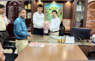 ಮನಪಾ : ನೂತನ ಆಯುಕ್ತ ಶಾನಾಡಿ ಅಜಿತ್ ಕುಮಾರ್ ಹೆಗ್ಡೆ ಅಧಿಕಾರ ಸ್ವೀಕಾರ