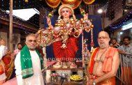 ರಥಬೀದಿ : ಶ್ರೀ ಶಾರದಾ ಮಾತೆಯ ಶೋಭಾಯಾತ್ರೆಯೊಂದಿಗೆ ಮಂಗಳೂರು ಶ್ರೀ ಶಾರದಾ ಮಹೋತ್ಸವ ಸಮಾಪನ