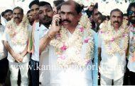 ದೇರಬೈಲ್ 24 ವಾರ್ಡಿನ ಅಭ್ಯರ್ಥಿ ಎಂ.ಶಶಿಧರ ಹೆಗ್ಡೆಯವರಿಗೆ ಸತತ ಐದನೇ ಭಾರಿ ಗೆಲುವು